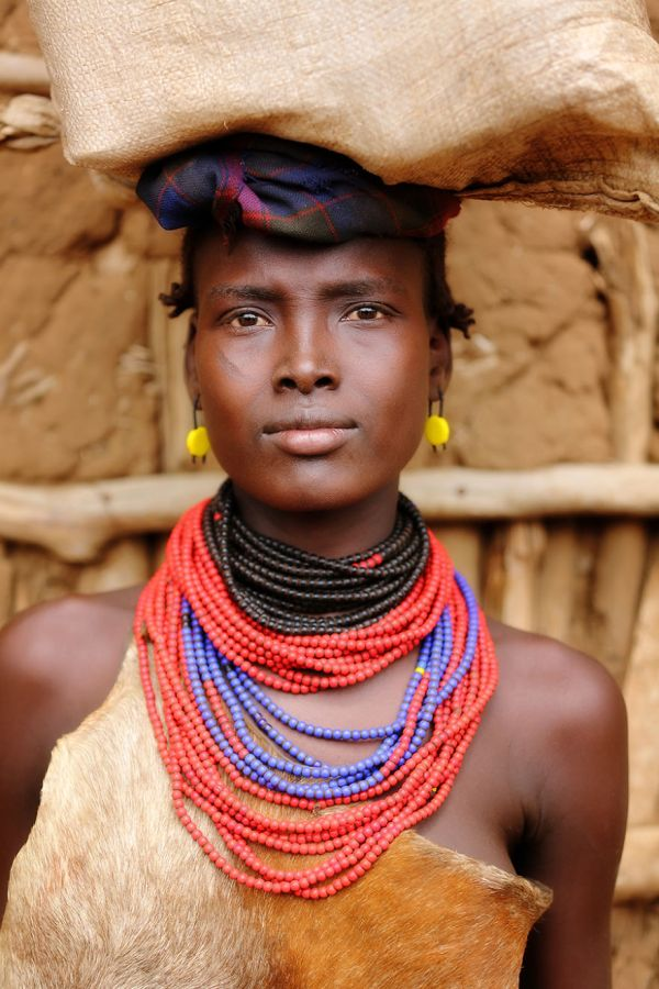 Daasanach Tribe woman
