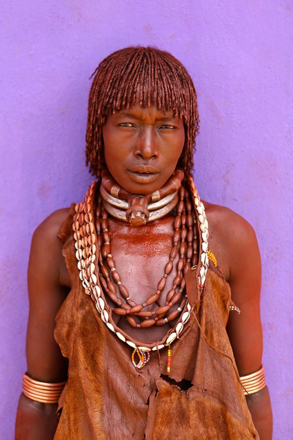Hamar Tribe woman