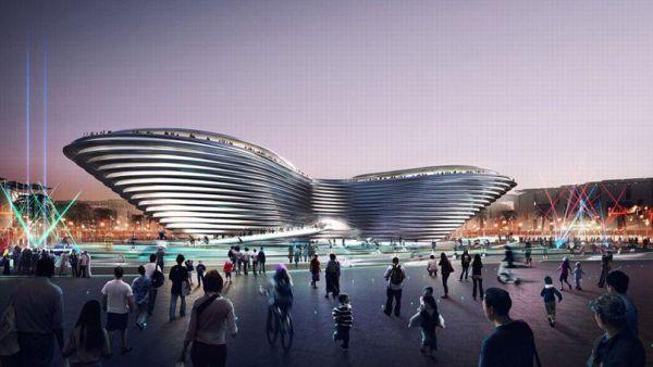 Le Pavillon Mobilité, Cabinet Foster + Partners