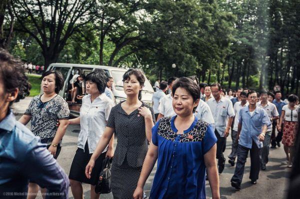 Au coeur de la capitale Pyongyang