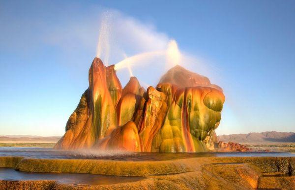 Fly Geyser, Nevada, United States