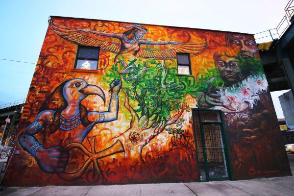 Florilège des villes qui valorisent le street art