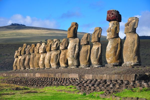 Easter Island will accommodate the largest marine sanctuary in South America !