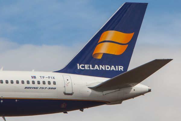 Un show inédit en plein vol pour les 80 ans d'Icelandair