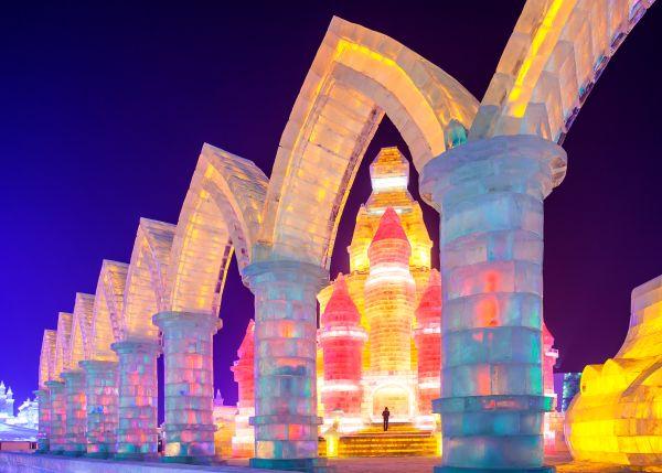 Voyage en Chine plus grande piste de ski indoor du monde