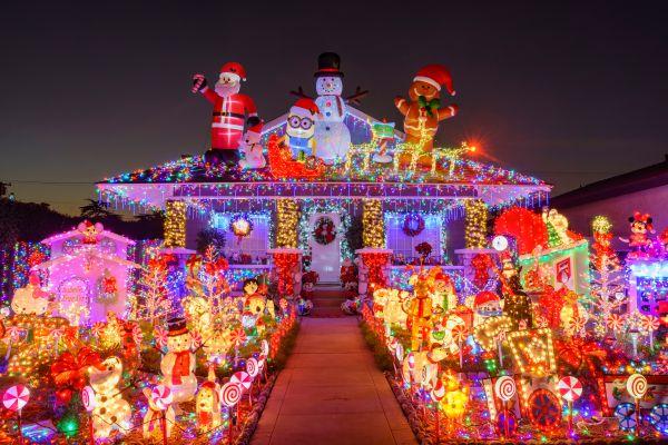 Aux USA, les décorations de Noël sont magnifiques