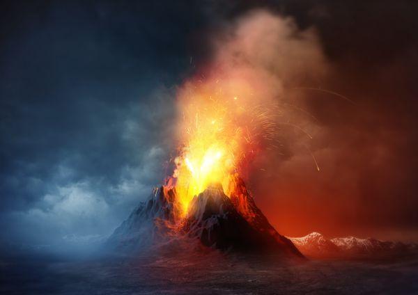 Aktive Vulkane