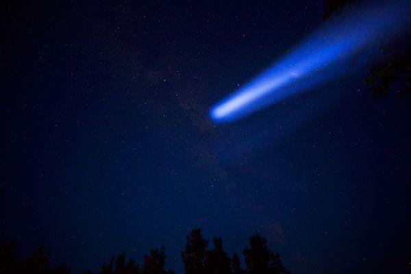Une météorite a illuminé le ciel russe