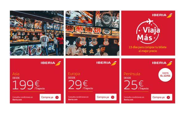 iberia nueva promocion vuelos inicio amo 2018