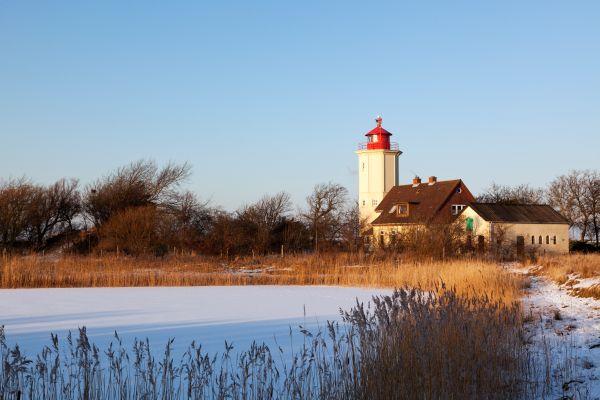 Winter auf der Insel Fehmarn
