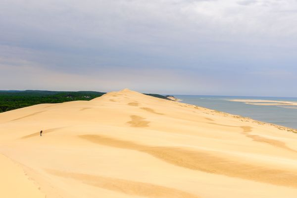 Spectre de Brocken : il filme ce phénomène rarissime du haut de la dune du Pilat