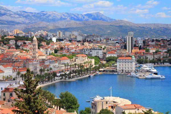 Split: eine Stadt mit römischem Einfluss
