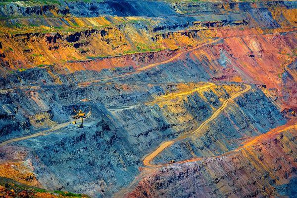 Eine bezauberte Mine in Russland