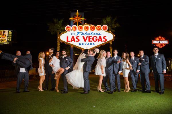 2018 könnte ein Rekordjahr der Hochzeiten in Las Vegas werden