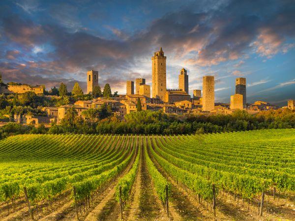 Unter dem Himmel der Toskana