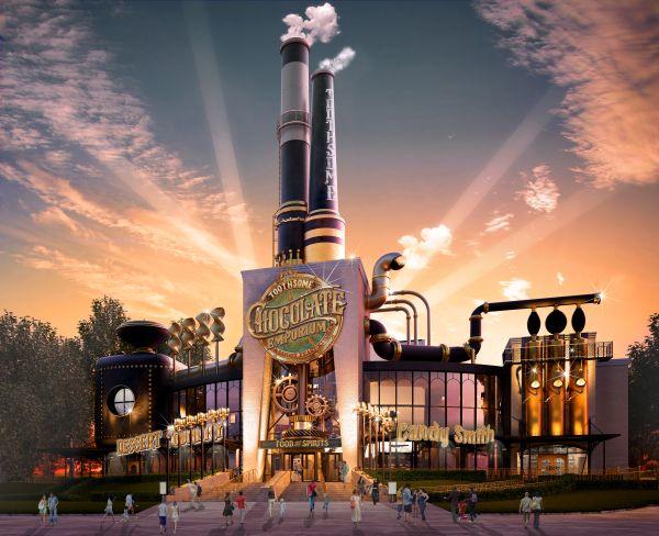 Charlie et la Chocolaterie : venez visiter l'usine comme dans le film