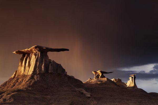 Bisti Wilderness Area in New Mexico