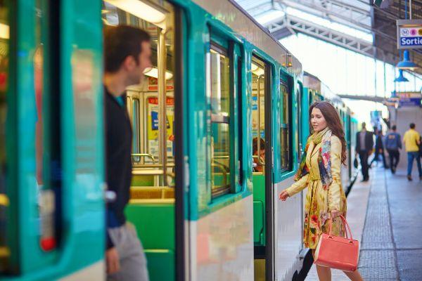 Le métro parisien verra la vie en bleu !