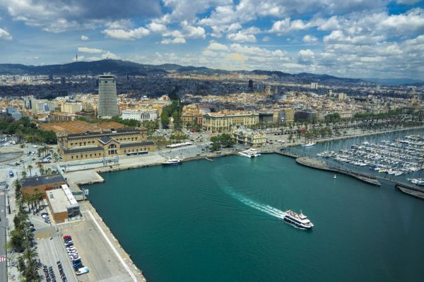 Barcelona Kreuzfahrt-Hafenterminal