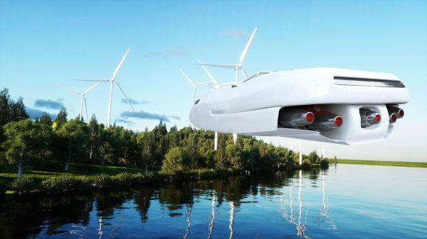 Une voiture volante présentée au Canada