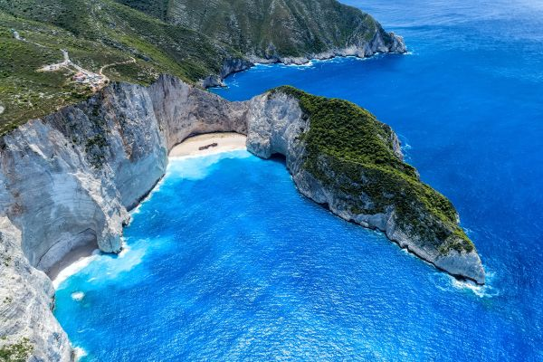 Secluded Navagio is in the news, but not for its famous shipwreck