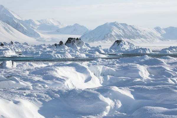 Cratère immense découvert au Groenland