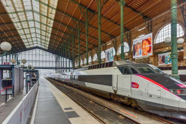 Un nouveau dépose bagage Air France ouvre à la gare de Paris Nord