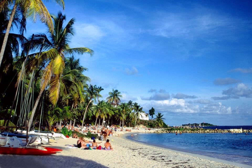 Un billet aller-retour direction la Guadeloupe