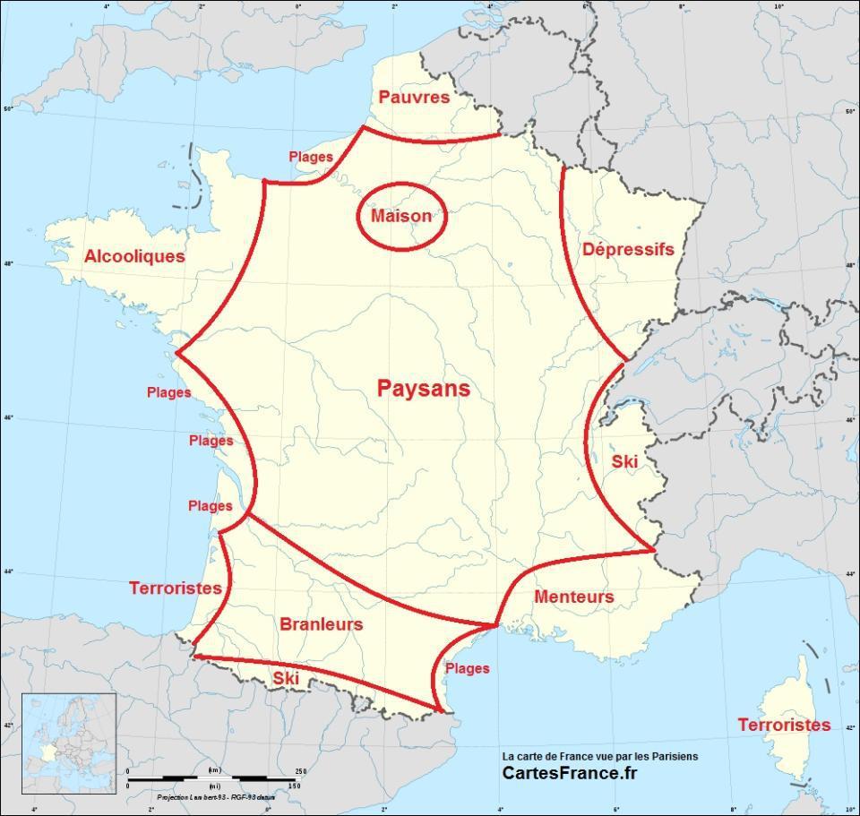 Carte Du Monde Realiste.La France Comme Vous Ne L Avez Jamais Vue Easyvoyage