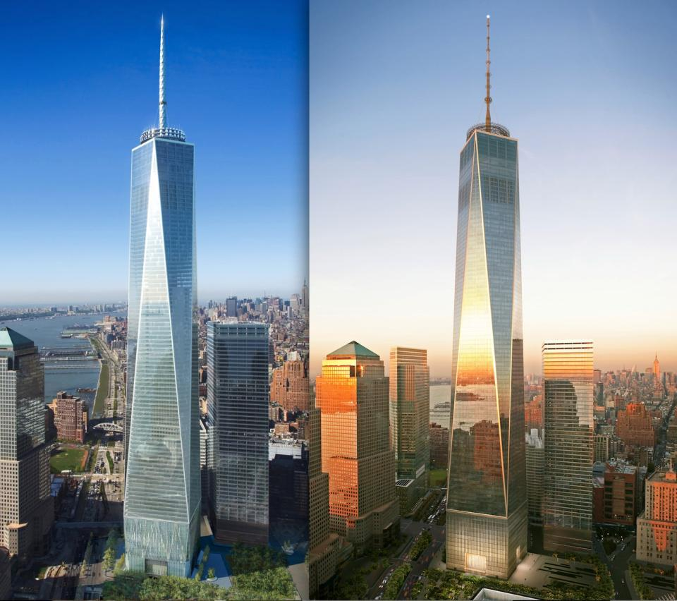 Visite guid e l 39 int rieur du one world trade center - Architekt one world trade center ...