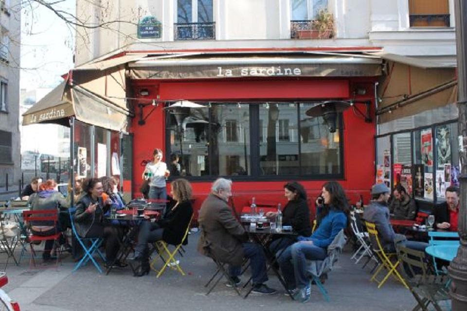 Les 10 meilleurs bars de paris easyvoyage for Restaurant bastille terrasse