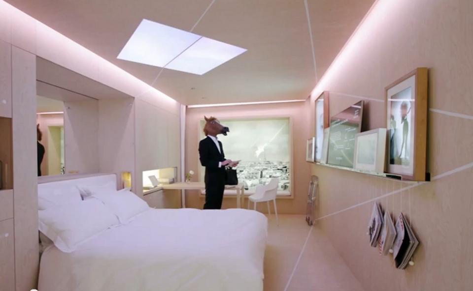 Comment voyagerons nous dans le futur easyvoyage for Chambre 13 dans les hotels