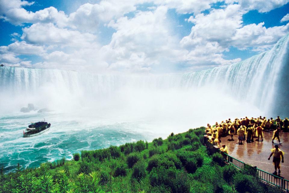 Les chutes du Niagara...