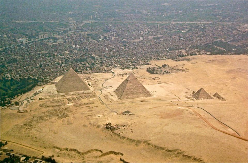 ...dans la banlieue du Caire