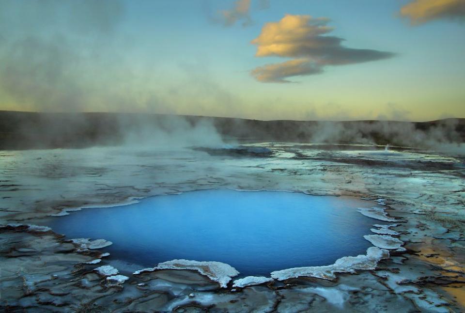 Source chaude islandaise