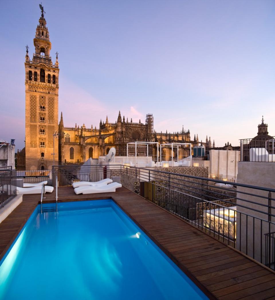 Les plus belles terrasses de s ville easyvoyage - Hotel eme sevilla spa ...