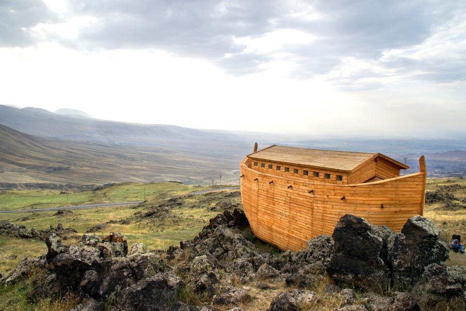 L'Arche de Noé se serait échouée sur le Mont Ararat