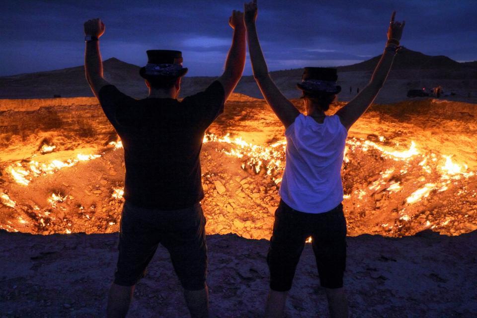 Top 10 des destinations dont vous n 39 avez probablement jamais entendu parler easyvoyage - Turkmenistan porte de l enfer ...
