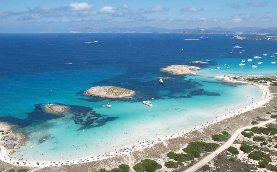 Carte Plage Naturiste Andalousie.10 Plages Qu On Ne Connait Pas En Espagne Easyvoyage
