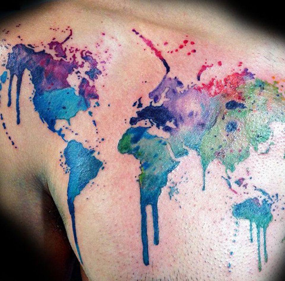 Voyage les plus beaux tatouages de la plan te easyvoyage - Le plus beau tatouage du monde ...