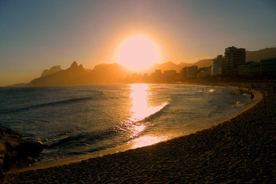 3. La plage d'Ipanema à Rio de Janeiro (Brésil)
