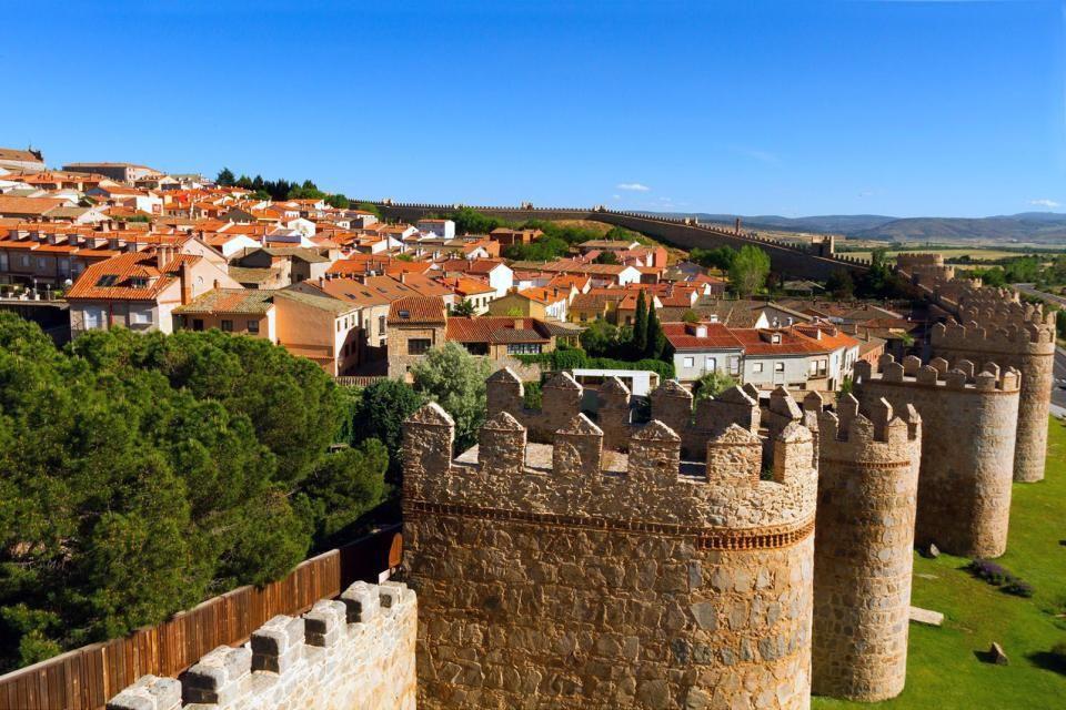 Les murailles d'Avila, classées par l'Unesco