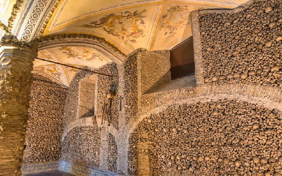 1. Chapel of Bones, Portugal