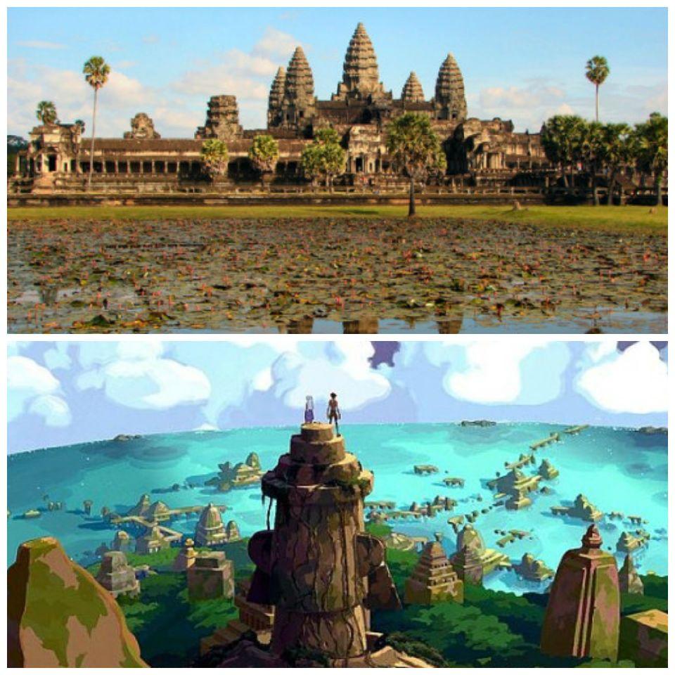 El templo Angkor Wat y Atlantis