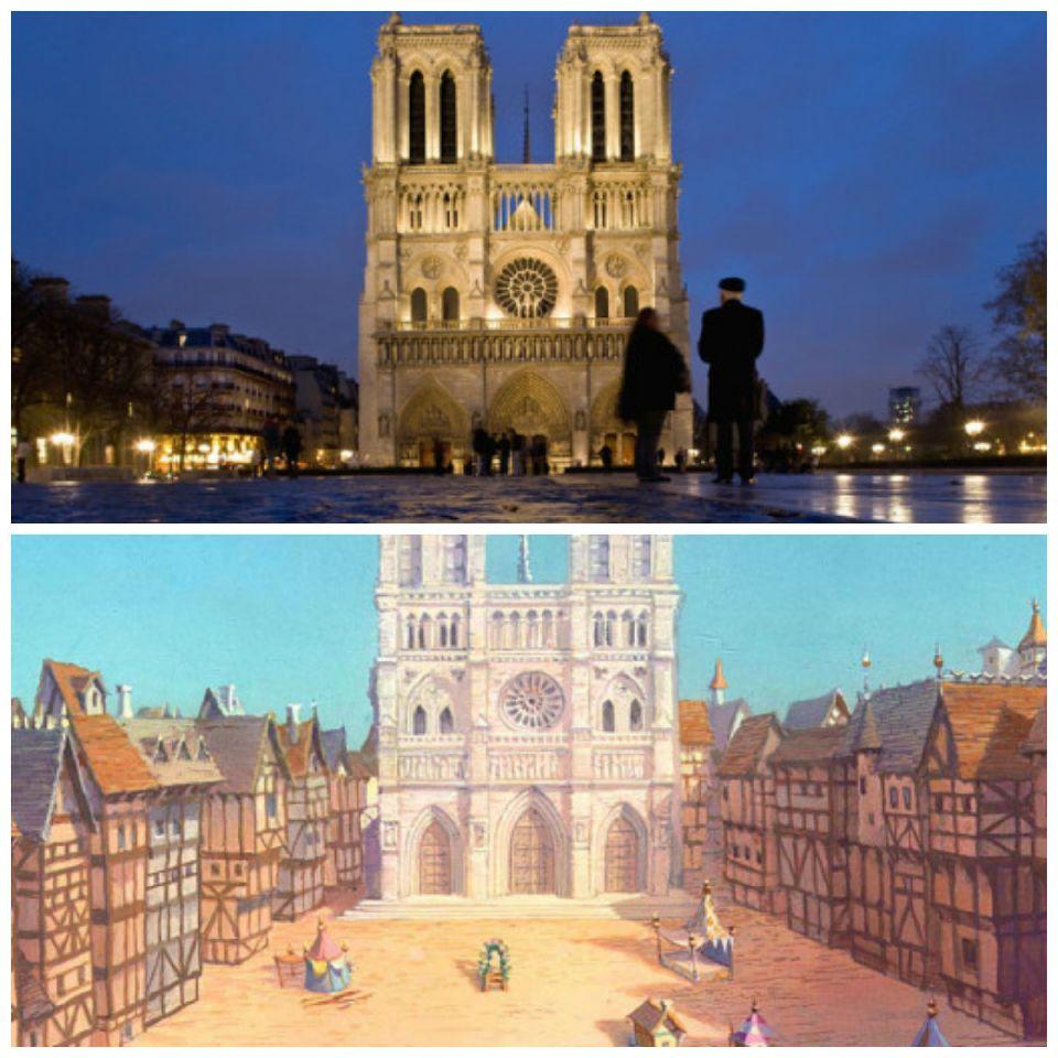 La Catedral de Notre Dame y el Jorobado de Notre Dame