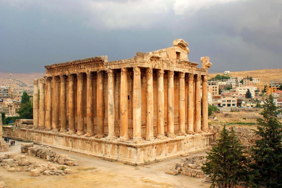 Le site de Baalbek au Liban