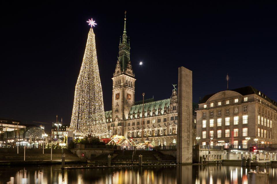 Le marché de Noël de Hambourg
