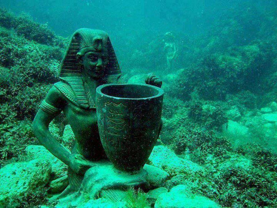 Le palais de Cléopâtre en Egypte