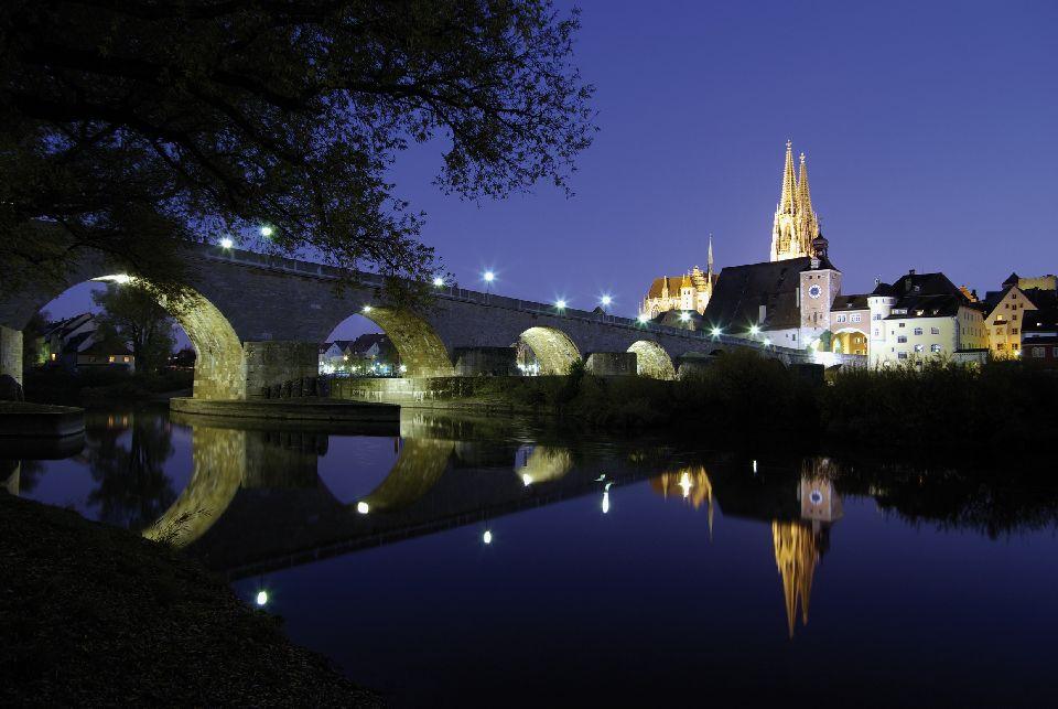 La vieille ville de Ratisbonne et Stadtamhof