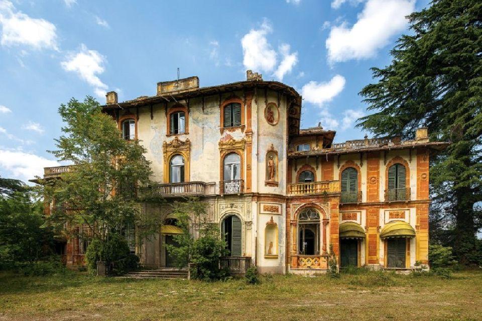 Le meraviglie abbandonate in italia easyviaggio for Lago villa del conte